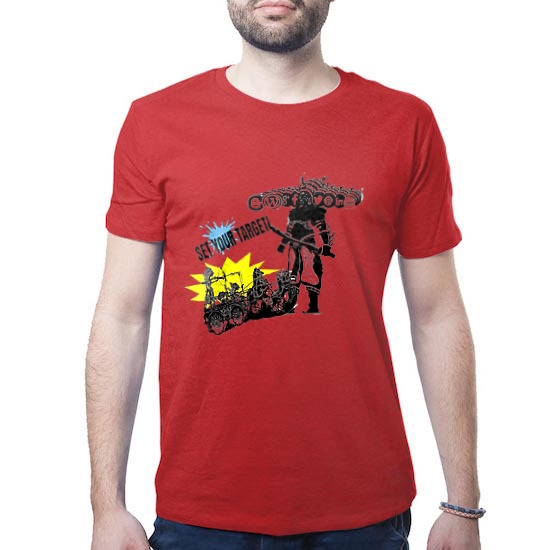 Jual Kaos Internet Marketing SEO Merah untuk Internet Marketer Wayang SMO