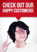 Lihat pelanggan bahagia kami