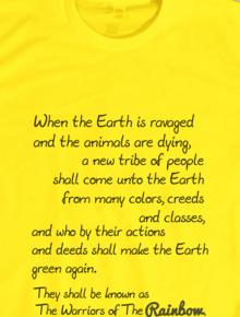 Hopi Prophecy,Hopi Prophecy, tipografi