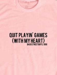 BSB - Quit Playin Games,music, musik, 90an, 90's, band, lirik, boyband, oasis, nirvana, bsb, boyzone, westlife, lagu, portishead, pearl jam, mltr