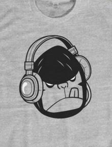 BRUKEYLAND NO 14,Azazyn, Brukeyland, Indonesia, Musik, Headset, Beruk, Monyet, Illustrasi, Vector