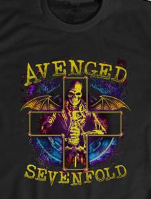 AVENGED SEVENFOLD 2 _ band musik,AVENGED SEVENFOLD, Kaos, Underground, Musik, Metal, Metalcore, Emo, Band, Komunitas, Geek, Ilustrasi