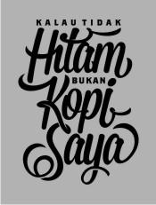 Kopi Saya,kopi, coffee, tipografi, typography, twicolabs