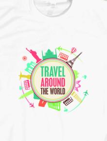 Travel Around The World,Travel, Travel Around The World, Geek, Ilustrasi