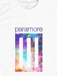 Paramore band nebula logo,Paramore, musik, band