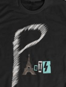 Paris,Geek, Paris, tipografi, Perancis,