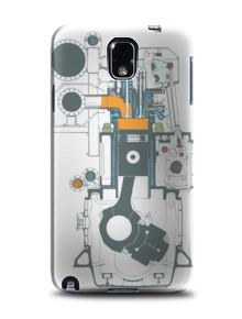 phonecase Engine,casing hp, phone case, cover samsung, galaxy note, samsung galaxy note, ponsel, handphone, cover belakang samsung