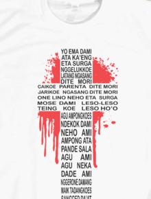 Yo Ema Dami,MW, caci, manggarai, kaos, baju, manggaraianswear, yurialfred, NTT, Flores
