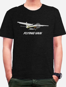 Flying Van,Grand Caravan, Plan, Aero, Pesawat, Flying