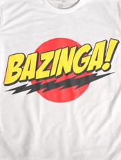 Bazinga,bazinga,tees,fun,bigbang,sheldon,logo,cooper,clothing