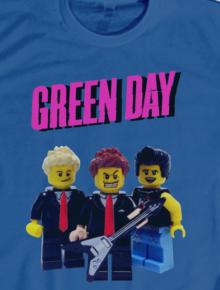 Greenday Brick,music, rock, lego