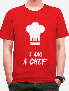 Kaos Chef - Koki,chef, koki, kaos, profesi, passion