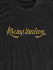 Kreasimalam T-shirt,kreasimalam, t-shirt, tee, tees, custom, apparel, kaos, design, desain, kreasi, malam, desain grafis, graphic design, illustration, ilustrasi, logo, lettering, branding, typography, caligraphy