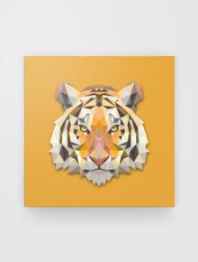 Tiger Show,Tiger, canvas, unique