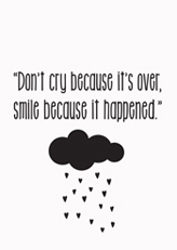 Smile,quote, love, cry, smile