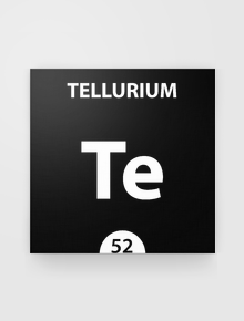 Tellurium,ScienceThings, chemical, Tellurium