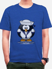penguin,pelaut, sailor, kaos, indonesia