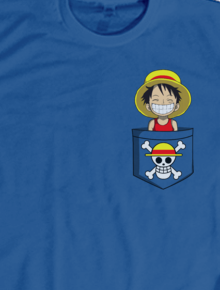 Kid Luffy,Luffy, Baby, Cute, Simple, Funny, Pocket