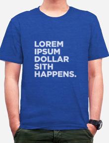 Lorem Ipsum,tipografi, typography, shirt. funny. humor, word, quote, wordplay