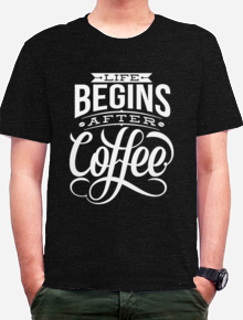 Life Begin After Coffee,kopi,coffee,typografi