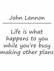 Quote of John Lennon,john lennon, quote, life
