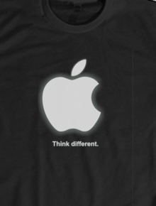 kaos apple,kaos apple, apple, baju apple, jual kaos apple