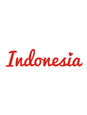 Love Indonesia,T-Shirt, Love, Indonesia, White, Red