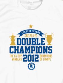 Chelsea Double Champions,Football, Chelsea, Champions