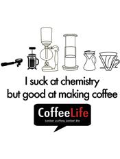 Coffee Life Chemistry,coffeeshop, coffee life, jakarta cafe, cafe, chemistry, caffeine, kaos kopi, pour over, aeropress, kaos kafe, kopi indonesia, jakarta kafe