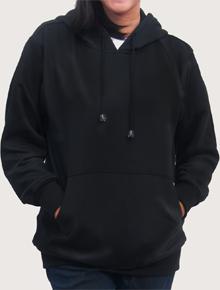 Hoodie Hitam Wanita,hoodie,basic,hitam,wanita