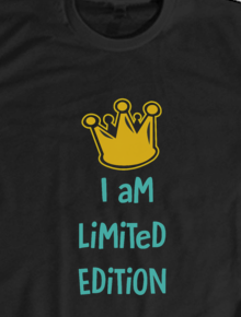 Me Limited,Genial, Love, Limited, edition, Tipografi, Happy