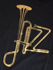 Jazz Trumpet Black,jazz, traffic, dtg, distro, kaos, owl, java, jazzuality, merchandise