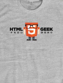 HTML5 Geek,geek, html5, css3, web, programmer