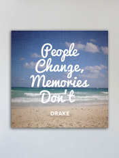 People Change Memory Dont,