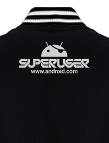 ANDROID SUPERUSER VARSITY,android, superuser, root, rooted, tipografi, jaket, varsity