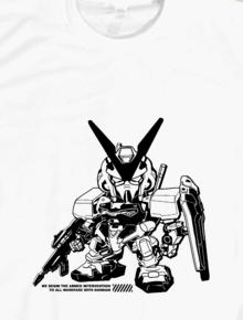 Gundam Chibi,Gundam, Chibi, Monochrome