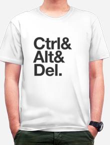 Ctrl Alt Del,Control, Atl, Del, Ctrl, Alt, Del, windows, mac, reboot, geek, nerd,