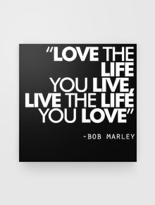 Bob Marley Kanvas Quotes,Bob Marley, Quotes, Reggae, Motivasi