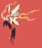 Mega Blaziken,Pokemon, Blaziken