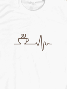 coffee heart beat,kopi,coffee,coffee lovers,tipografi,coklat, black, white, mocca, barista,caffeine, roast, cappucino, latte, heart, love cup, machine, beat