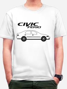 Civic Ferio,kaos civic, sablon civic, kaos civic ferio, kaos ferio