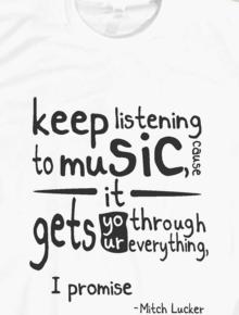 Keep Listening Music,Keep Listening Music, music, Mitch lucker, Rock, Scream