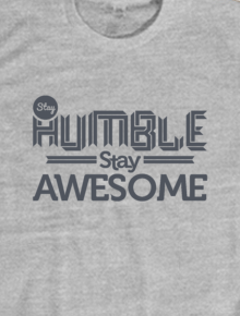 awesome,humble, awesome, typo, typography, quotes