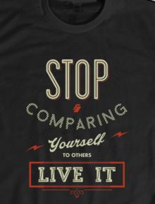 stop compare,nasjem, nasehat, nasihat, quote, islam, muslim, muda, wisdom, mahfudzat, syukur, stop, compare, comparing
