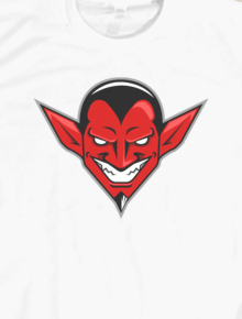 Devil Head,devil, head, setan, merah, red, vector art, pop art