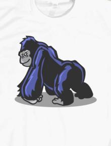 Gorilla,gorilla, ape, monyet, king kong, vector art, pop art
