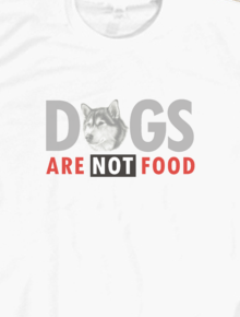 NMU - DOGS ARE NOT FOOD,DOGS ARE NOT FOOD