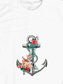 Flower Anchor,flower,floral,anchor,