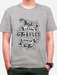 Break the Rules,Tipografi, Quotes, Humor, Lucu, Keren