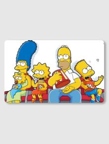 simpson family,simpson, homer, bart, lisa, maggie,